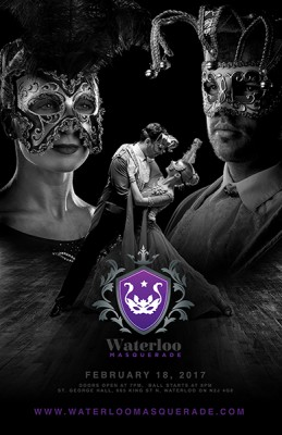 Waterloo Masquerade Ball @ St. George Banquet Hall | Waterloo | Ontario | Canada