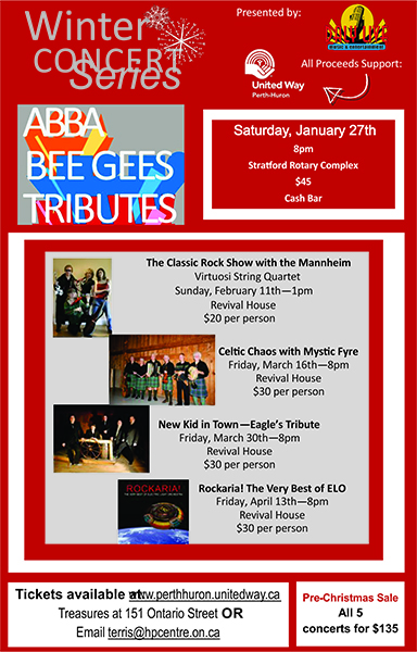 New Kid In Town - Eagles Tribute - United Way Fundraiser @ Revival House | Stratford | Ontario | Canada