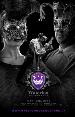Waterloo Masquerade Ball @ St. George Banquet Hall | Waterloo | Ontario | Canada